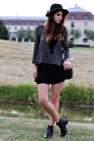 black have2havese boots - black SANDRO blouse