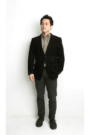 dark brown basic style TPRBT socks