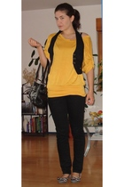 Urban Republic top - New Yorker vest - Mango pants - Pimkie - sugar shoes