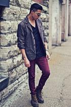 Dr Martens boots - H&M jeans - Aldo sunglasses