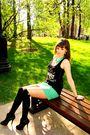 Green-skirt