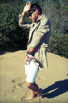 Zara coat - koxis shorts