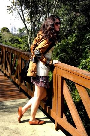 Arezzo shoes - asos jacket - Arezzo bag - SCALA skirt
