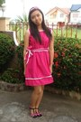 Hot-pink-barbie-dress-black-random-from-hong-kong-shoes