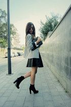 black skirt Rinascimento skirt - black jacket united colors of benetton blazer