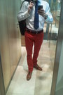 Red-zara-pants-tawny-zara-shoes-navy-zara-blazer