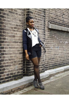 patent leather Marni for H&M jacket - h&m diy shorts