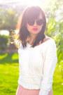 Pink-net-dorothy-perkins-skirt-white-suncoo-jumper