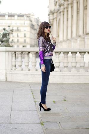 Zara jeans - Manoush sweater
