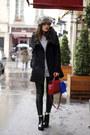 Black-patent-new-look-boots-black-la-city-coat-black-leather-zara-leggings