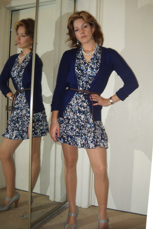 Old Navy sweater - Forever 21 dress