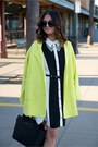 Shirt-forever-21-dress-yellow-retro-swing-forever-21-coat