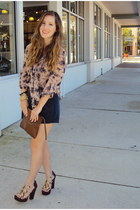 Dolce Vita shoes - vintage bag - American Eagle blouse