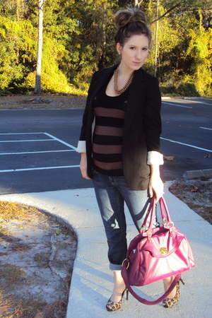 Theory sweater - Target blazer - Juicy Couture jeans - Nine West shoes - Old Nav