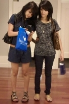 Forever21 shirt - Empire jeans - Steve Madden shoes - Kimchi&Blue purse