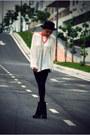 Black-sage-senso-boots-black-forever-21-hat-black-high-waisted-topshop-leggi