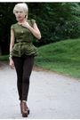 Green-forever21-top-brown-forever21-pants-brown-jeffrey-campbell-shoes-gol