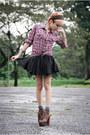 Red-oldtop-top-black-asos-skirt-dark-brown-jeffrey-campbell-boots-heather-
