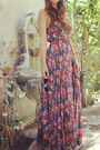 Navy-floral-maxi-zimmerman-dress