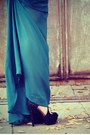 Teal-maxi-lulus-dress