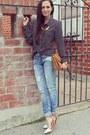 Blue-boyfriend-zara-jeans-bronze-white-tip-jeffrey-campbell-heels