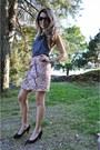 Linen-h-m-skirt