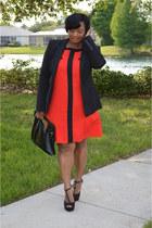 shift Forever21 dress - t- strap JCPennys heels