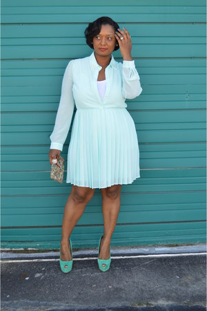 pleated Forever 21 dress
