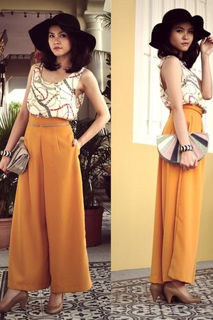 chain print Style Societal top - wide-leg pants Style Societal pants