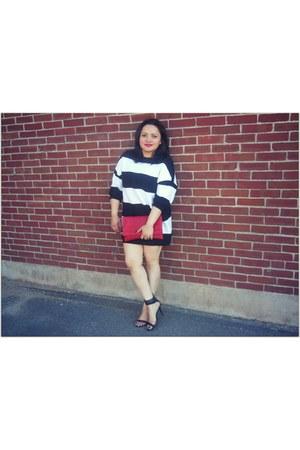 Zara dress - TJ Maxx bag - Zara heels - Modern Design ring