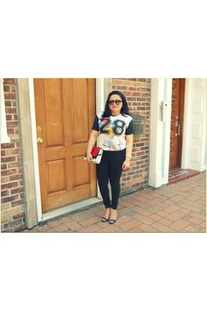 Zara top - Forever 21 pants