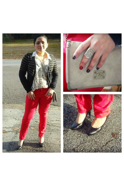 Forever21 top - American Eagle jeans - Forever21 cardigan
