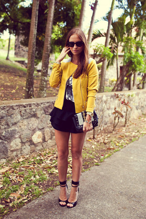 Baukjen jacket - Zara skirt