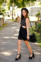 AX Paris dress - Steve Madden heels