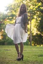 TheScarletRoom dress - Steve Madden heels