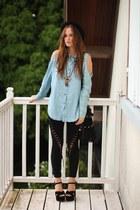 storets leggings - StyleSofia blouse