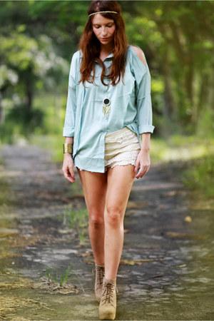 Chicwish blouse - Chicwish shorts