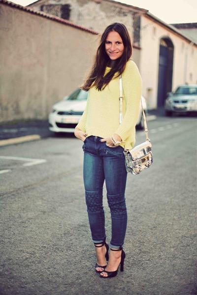 Zara jeans - Zara jumper