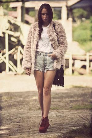storets jacket - Levis shorts