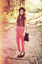 American Apparel pants - American Apparel blouse