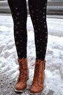 Tawny-modcloth-boots-black-patterned-thrifted-sweater-black-chicwish-tights