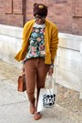Forest-green-thrifted-sweater-tawny-braided-satchel-street-level-bag