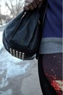 Black-vj-style-bag-heather-gray-purple-panda-free-gold-watch-sweater