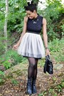Black-urbanog-boots-light-pink-tulle-modcloth-dress-black-til-darling-jacket