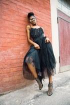 Sheinside skirt - casnaboty heels