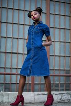 casnaboty dress - Yoins boots