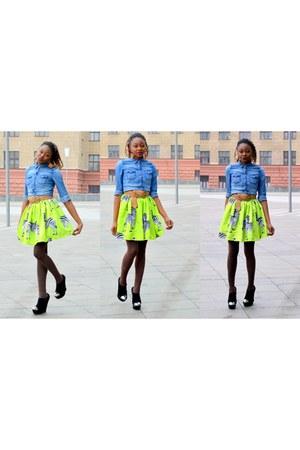 dresslikn skirt