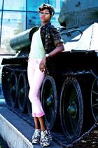 Calliope shirt - dlf pants - sammydress wedges - Sekonda watch