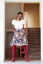 AmiClubWear boots - Mikarose dress