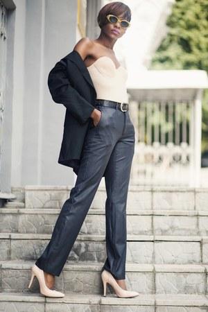 gray suit - gray suit